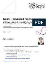 Gephi Advanced Functions
