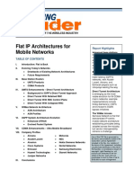 Flat IP Architectures for Mobile Networks - Unstrung Insider Report