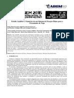 Estudo Analítico e Numérico de um Sistema de Fixação Ótimo para o Fresamento de Topo