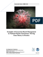Examples of Ecosystem-Based Management in National Marine Sanctuaries