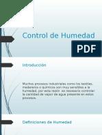 Control de Humedad PID