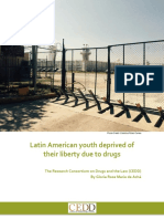 Latin American Youth Deprived of Their Liberty Due to Drugs