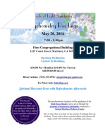 flyer - psychometry readings may 2016