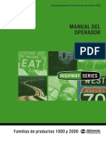 Operators Manual HS 1K 2k Español OM3757ES