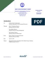 Rockhouse Fork Creek Final Report