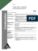 Hydrofuge Sika Liquide Nt100