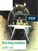 Brick Lining Installation