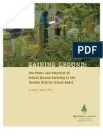 Gaining Ground - The Power and Potential of School Ground Greening