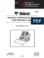 Bobcat S130 Maintenance Manual