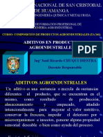 Aditivos Agroindustriales Clase Ok