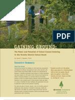 Gaining Ground - Executive Summary