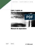 separadora LOPX-710-operador