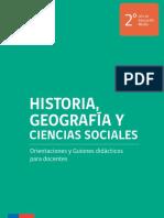 Historia, Geografía y Ciencias Sociales-Orientaciones y Guiones Didácticos 2° medio