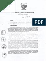 resolución de la oficina de administracion