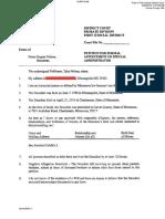 Prince Probate Petition REDACTED