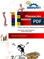 Exposicion de Planeacion Administrativa - Gestion