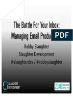 The Battle for Your Inbox