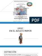 EPOC en el anciano (geriatría)
