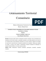 Ordenamiento Territorial Comunitario