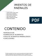 Expo Yacimientos de Minerales