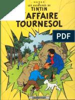 Album Tintin l'Affaire Tournesol