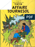 Album Tintin l'Affaire Tournesol