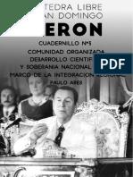 Cuadernillo 3 Cátedra Juan Domingo Peron.