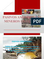 PASIVOS AMBIENTALES