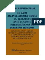 Sentencia de Brewer Cariasvs. Venezuela