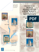 Jehovah's Witnesses Headquarters Tour Brochure