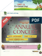 Y3 SK Textbook - Unit 16 - It's Concert Day