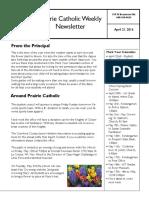 Newsletter 4 21 16