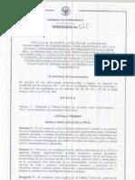 Ordenanza No 020