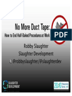 No More Duct Tape