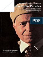 Pedro Pablo Paredes. La Palabra Hecha