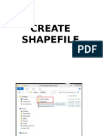 Manual Create Shape File & Geodatabase