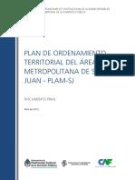 Plan de Ordenamiento Territorial del Area Metropolitana del Gran San Juan