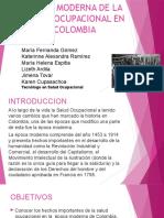 Epoca Moderna de La Salud Ocupacional en Colombia