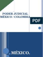 Mexico Colombia derecho comparado poder judicial
