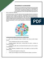 Redes Sociales y La Educación.