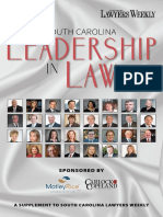 South Carolina Lawyers Weekly — Leadership in Law