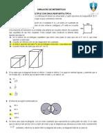 Simulacro de Matemáticas