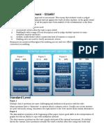 IB External Assessment Summary