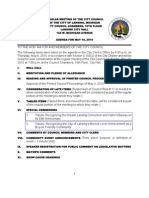Lansing (MI) City Council info packet for May 10 regular meeting