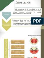 Sx Medulares y Radiología Columna