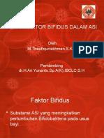 Slide peran faktor bifidus dalam asi