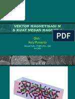 Magnetisasi & Kuat Medan Magnet