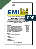 Lab 14 Dosificacion de Hormigon Tipo a y Revendiviento
