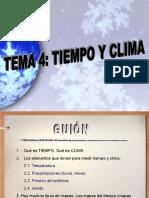 Tiempo climático