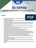 Guía Rápida Proceso Devolución de Iva Exportadores